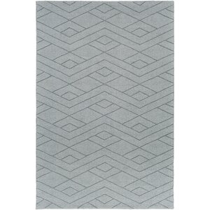 Julian Hand-Woven Medium Gray Area Rug