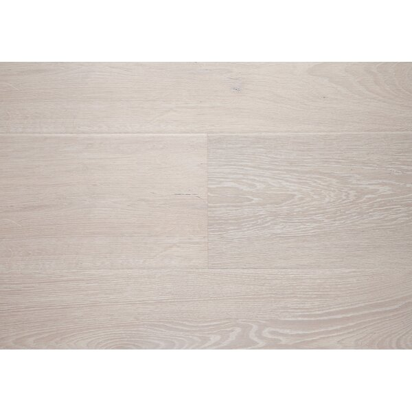 Wilshire 7.5 x 72 x 12mm Oak Laminate Flooring in Gray by Chic Rugz