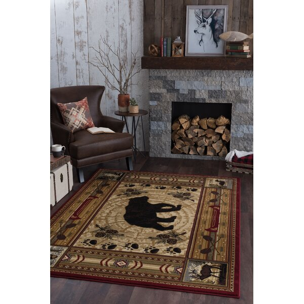 Russel Brown Area Rug by Threadbind
