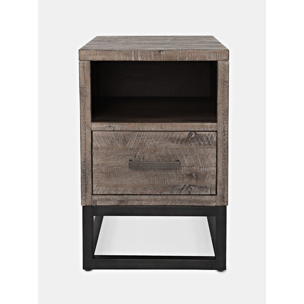 Nina Chairside End Table by 17 Stories