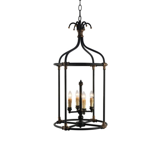Steinmetz 4-Light Chandelier by Bay Isle Home