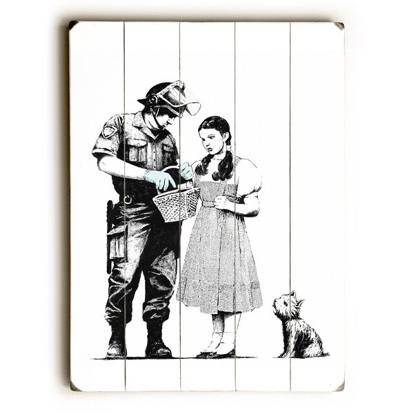 Dorothy Painting Print on Wood by Wrought Studio