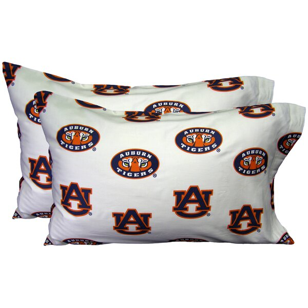 NCAA Auburn Pillowcase (Set of 2) by College Covers