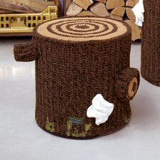 Bosque 15 Crocheted Cotton Seating by Seletti