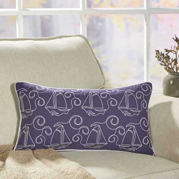 Sweet Fleet Lumbar Pillow Cover by Birch Lane Kids™