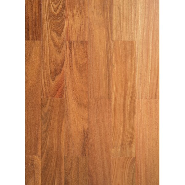 Ashton 3-3/4 Solid Teak Hardwood Flooring in Natural by Welles Hardwood