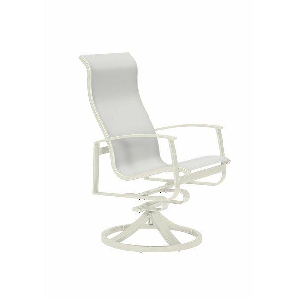 MainSail Swivel Patio Dining Chair by Tropitone