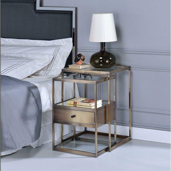 Easton Stylish 2 Piece Nesting Tables By Corrigan Studio