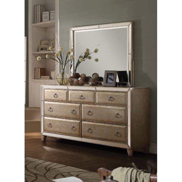 Hester 7 Drawer Dresser with Mirror by Rosdorf Park
