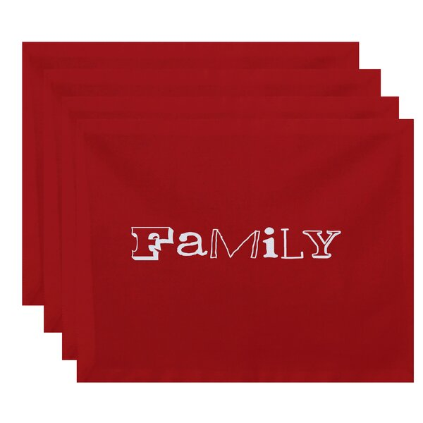 Spoetzl Family Print Placemat (Set of 4) by Red Barrel Studio