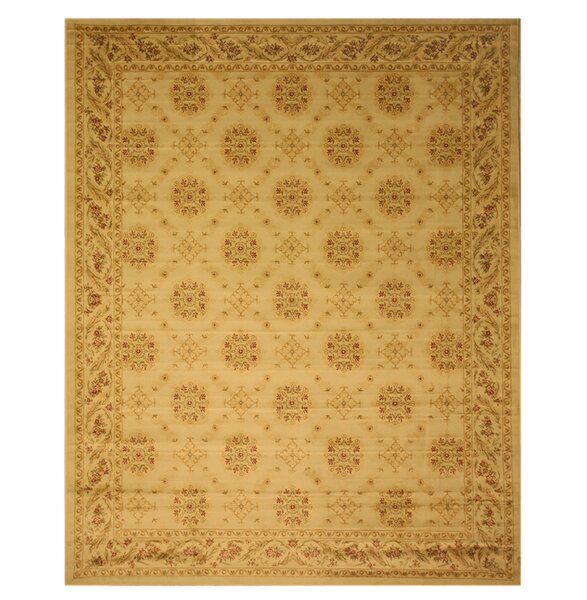 Cromwell Beige Area Rug by Threadbind