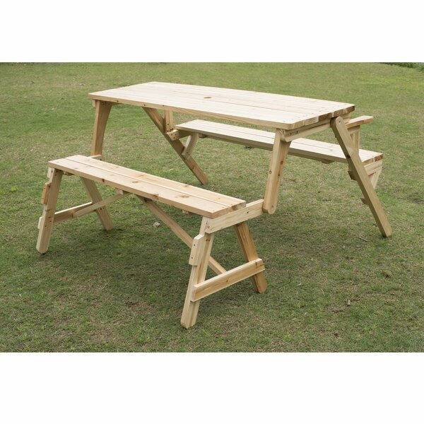 Stjean Picnic Table by Highland Dunes