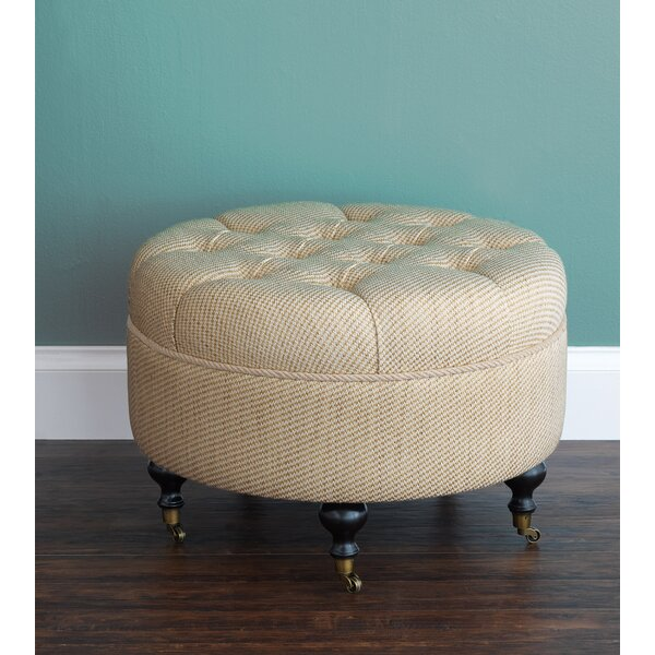 Sumba Momboro Tufted Cocktail Ottoman by Eastern Accents Eastern Accents