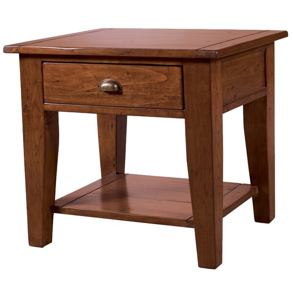 Yorba Linda End Table by Loon Peak