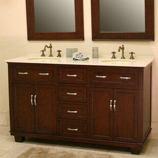 Best Price Bolton 60 Double Bathroom Vanity Set ByB&I Direct Imports