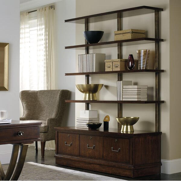 Palisade Library Bookcase by Hooker Furniture