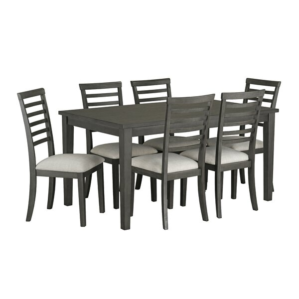 Chisdock 7 Piece Dining Set by Gracie Oaks