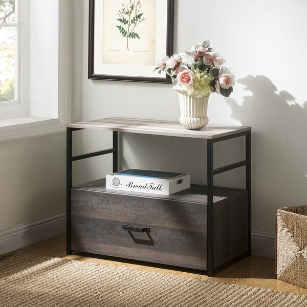 Mucci 1-Drawer Lateral Filing Cabinet