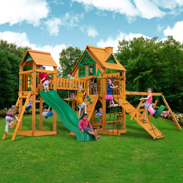 Pioneer Peak Treehouse Swing Set by Gorilla Playsets