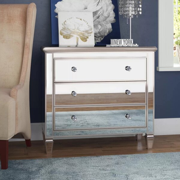 Laurine 3 Drawer Accent Chest By Everly Quinn