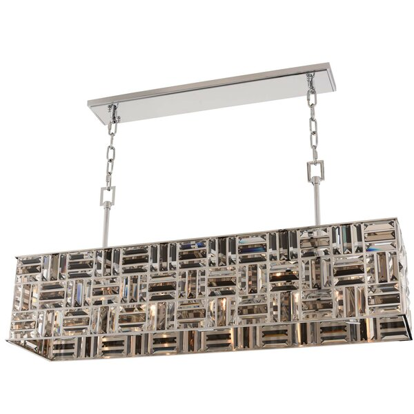Metcalfe 5-Light Rectangle Chandelier By Mercer41