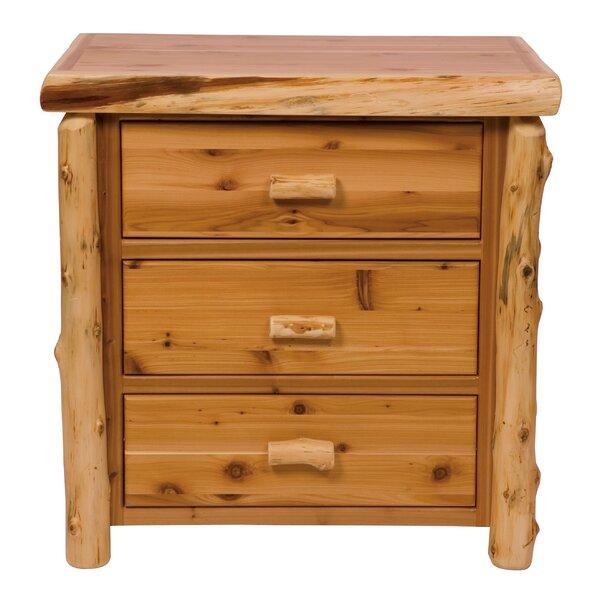 Value Cedar 3 Drawer Chest by Fireside Lodge