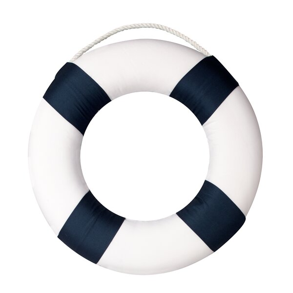 Shaped Life Saver Wall Hanging by Nautica