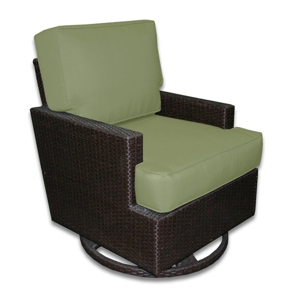 Sienna Swivel Patio Chair with with Sunbrella Cushions by Axcss Inc.