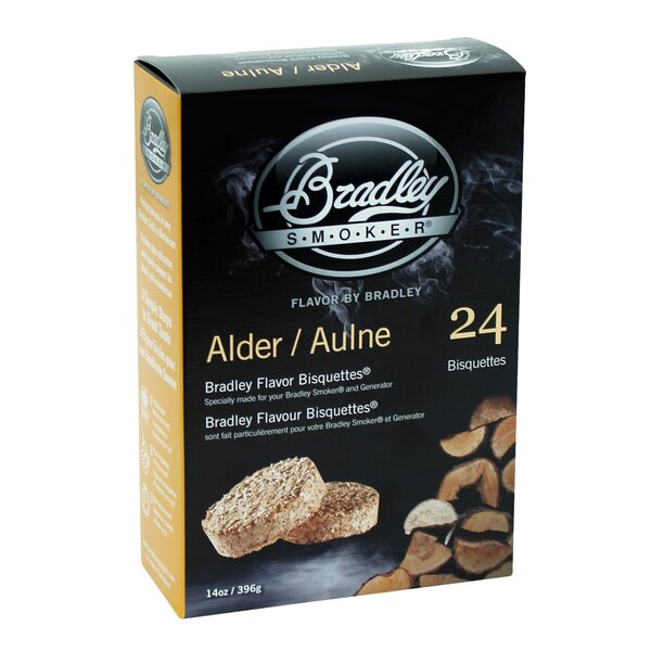 Alder Flavor Bisquettes (Set of 24) by Bradley Smoker