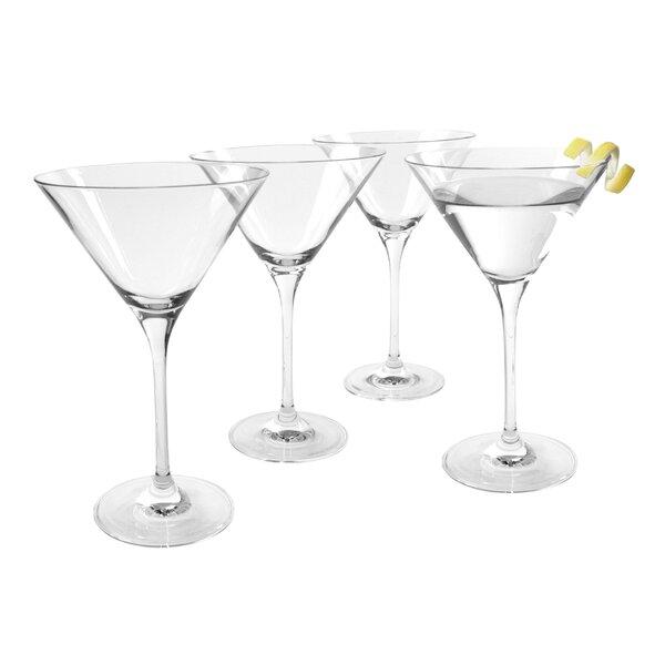 Veritas Martini 7 oz. Crystal Cocktail Glass (Set of 4) by Artland