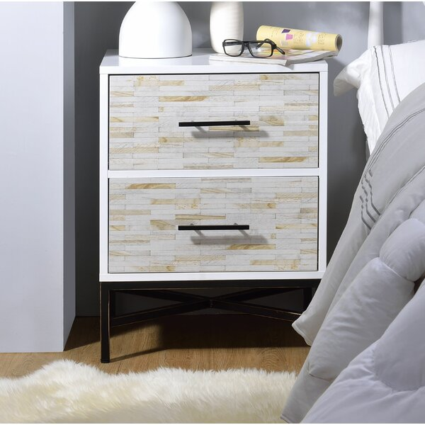 Rosevale 2 Drawer Nightstand by Brayden Studio