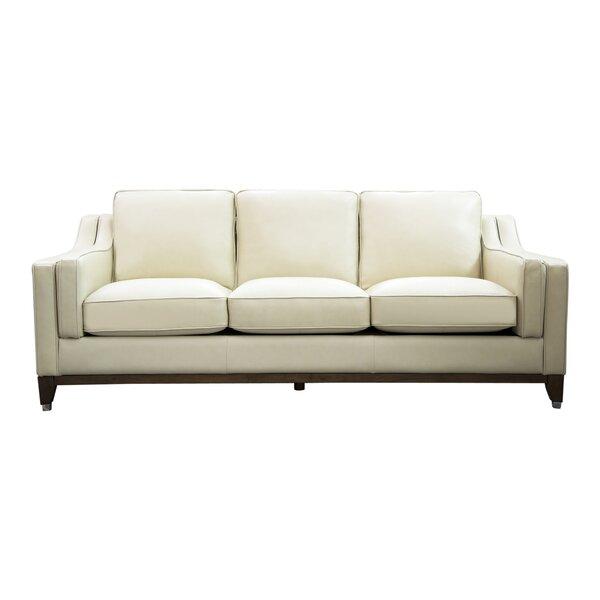 Cendejas Top Grain Leather Sofa By Charlton Home Savings