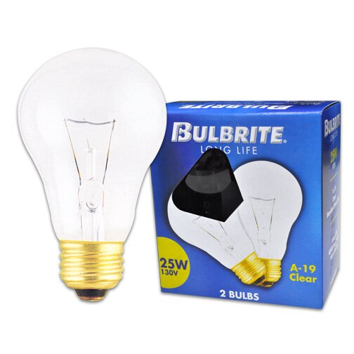 130-Volt Incandescent Light Bulb (Set of 28) by Bulbrite Industries