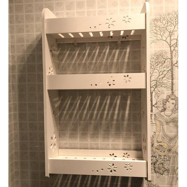 Marfa 13.78 W x 23.62 H x 5.51 D Wall Mounted Bathroom Shelves