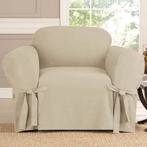 Polyester Armchair Slipcover by Red Barrel Studio