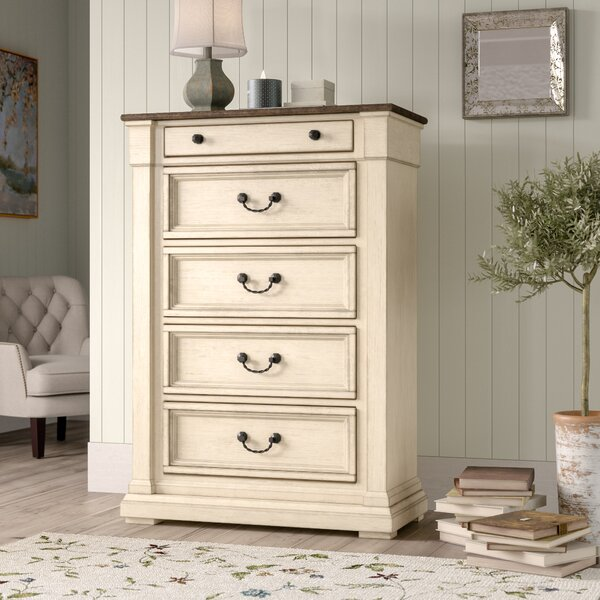 Marsha 5 Drawer Chest by Alcott Hill