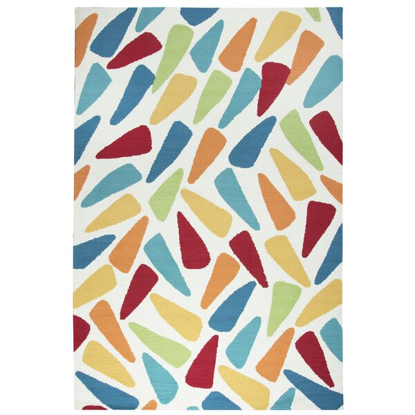 Evangeline Hand-Tufted Indoor/Outdoor Area Rug by Ebern Designs