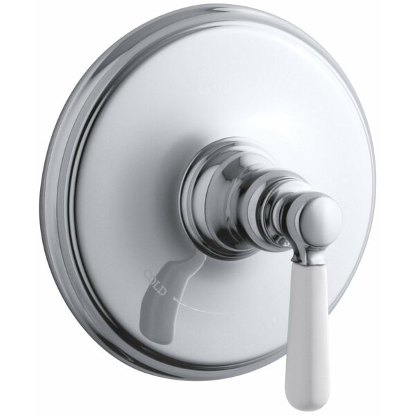 Bancroft Valve Trim with Ceramic Lever Handle for Thermostatic Valve, Requires Valve by Kohler