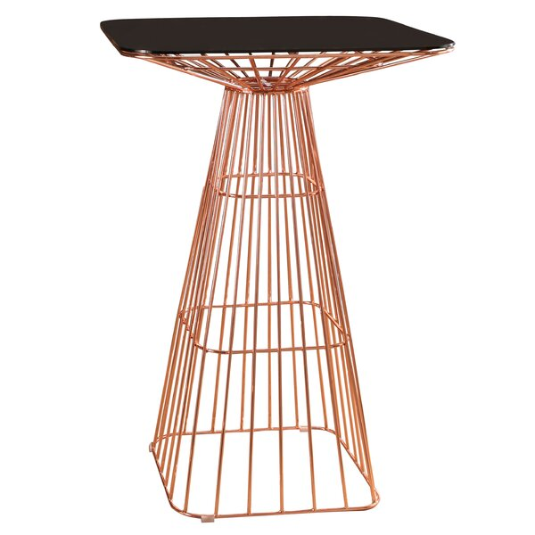 Eustaquio Iron Pub Table by Willa Arlo Interiors