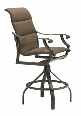 Montreux 25 Patio Bar Stool with Cushion by Tropitone