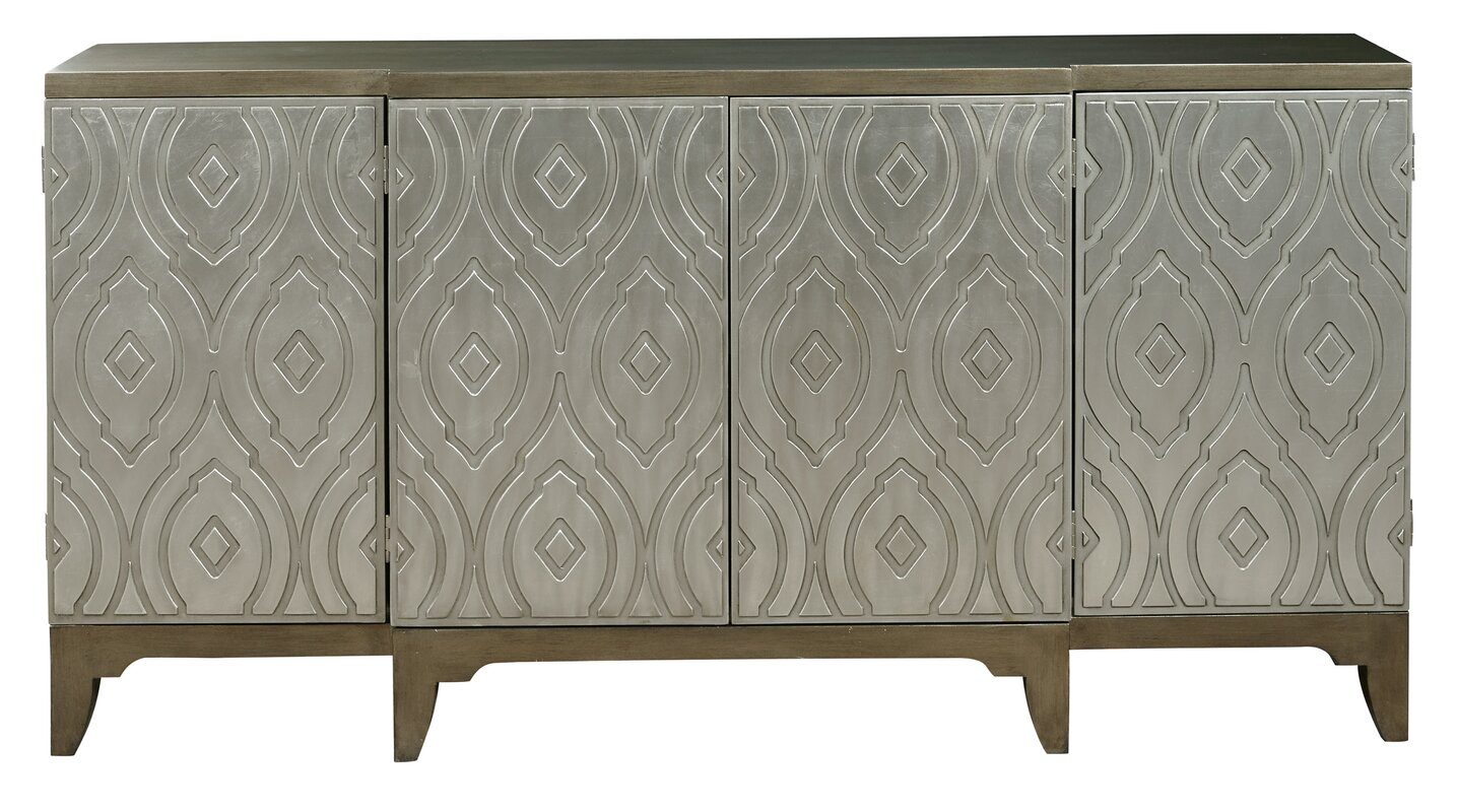 Kattie 4 Door Accent Cabinet