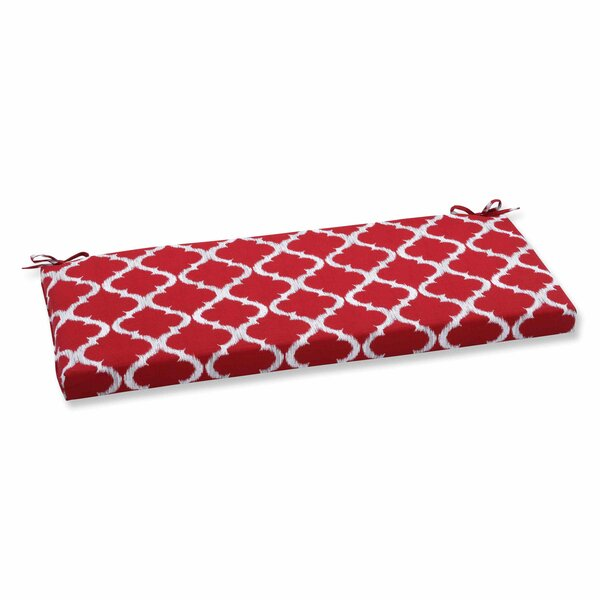 Kobette Indoor/Outdoor Bench Cushion by Pillow Perfect
