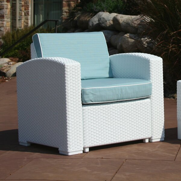 Loggins Patio Chair with Cushions by Brayden Studio