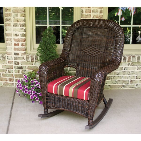 Fleischmann Rocking Chair with End Table by Darby Home Co
