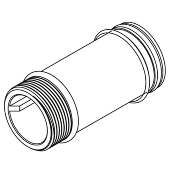Commercial 2-1/8 Supply Extension Nipple by Moen