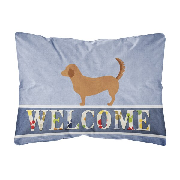 Scarberry Alpine Dachsbrake Indoor/Outdoor Throw Pillow by Winston Porter