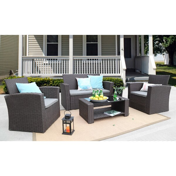Charmain Sofa Set with Cushions by Zipcode Design