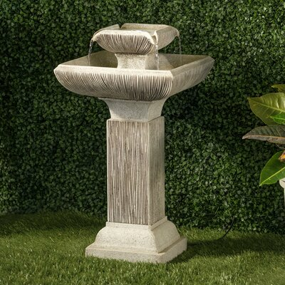 Image of Willamette Fountain with Pump Alfresco Home