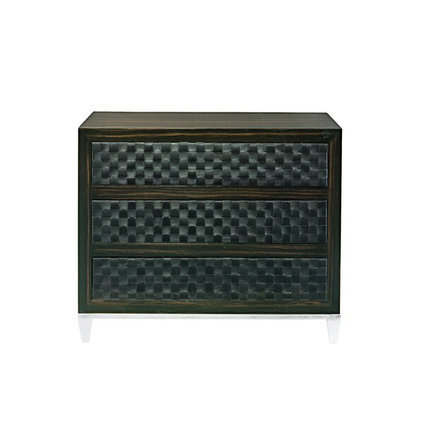 Grantley 3 Drawer Bachelor's Chest by Bernhardt