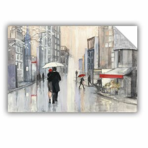 Spring Rain New York Painting Print by Red Barrel Studio